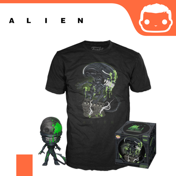 Alien POP! & Tee Box 40th Xenomorph Exclusive [Large]