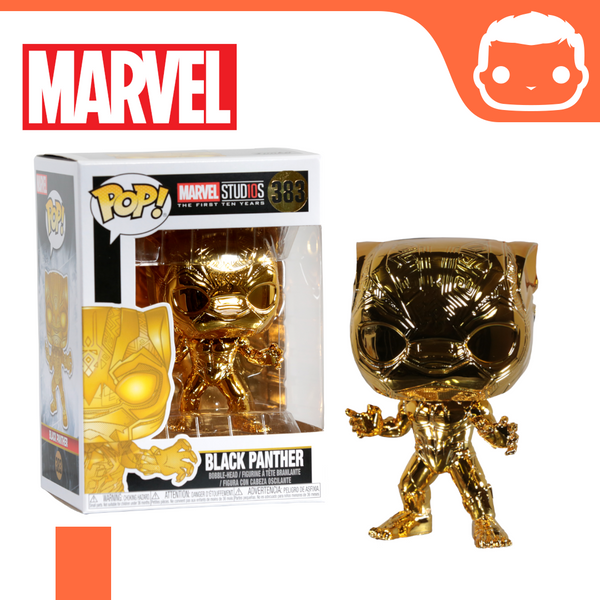 #383 - Marvel - Black Panther Gold Chrome Exclusive
