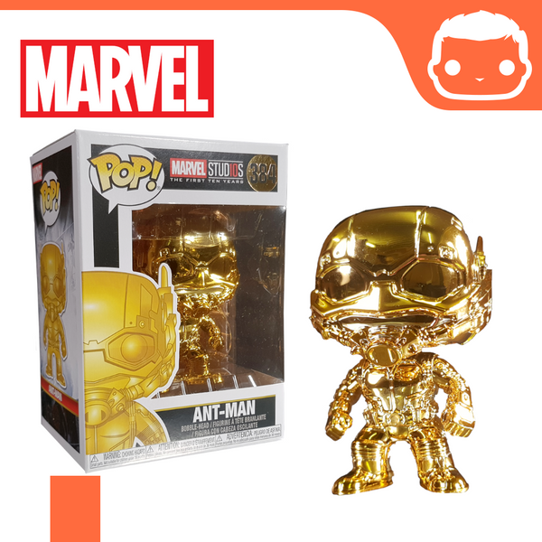 #384 - Marvel - Ant-Man Gold Chrome Exclusive