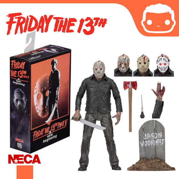 "NECA - Friday the 13th – 7″ Scale Action Figure – Ultimate Part 5 ""Dream Sequence"" Jason"