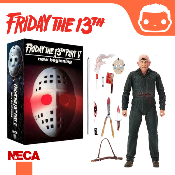 NECA - Friday the 13th – 7″ Scale Action Figure – Ultimate Part 5 Roy Burns