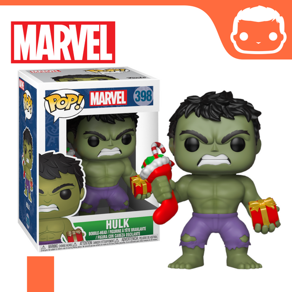 #398 - Marvel - Hulk With Stocking