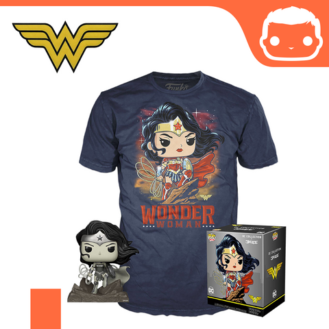 DC Jim Lee POP! & Tee Box Wonder Woman heo Exclusive