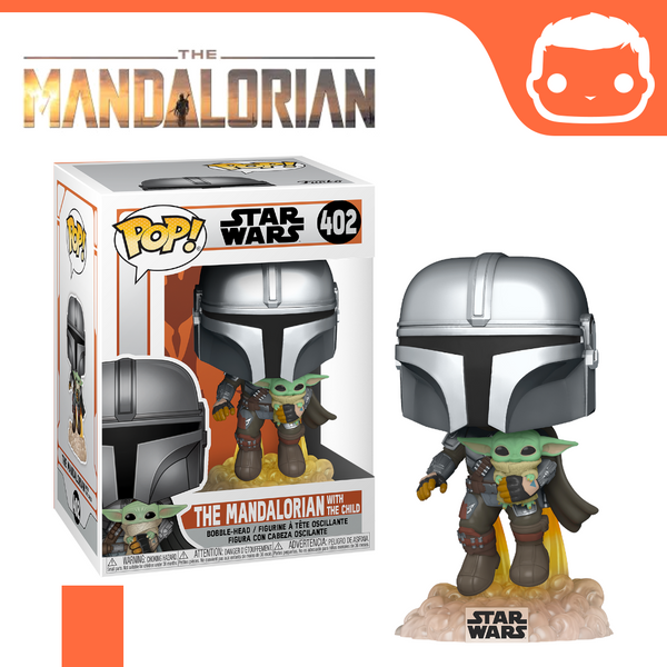 #402 - The Mandalorian - The Mandalorian With The Child [Pre-Order]