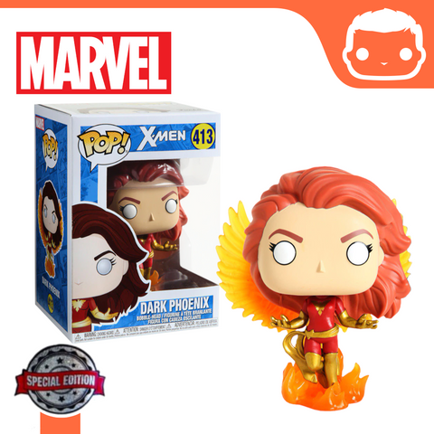 #413 - Marvel X-Men - Dark Phoenix With Flames Exclusive