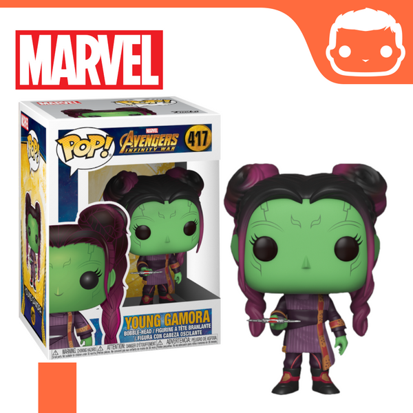 #417 - Marvel - Young Gamora