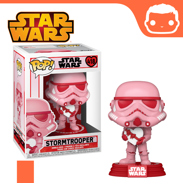 #418 - Star Wars - Stormtrooper With Heart [Pre-Order]