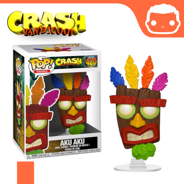 #420 - Crash Bandicoot - Aku Aku Mask