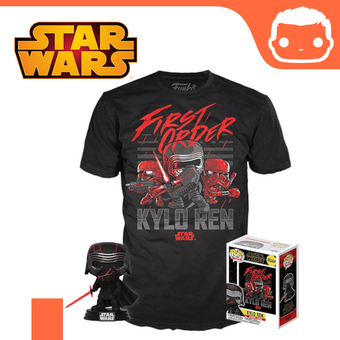 #308 - Star Wars - Kylo Ren & Tee Box Set - GITD Exclusive [Ex-Large]