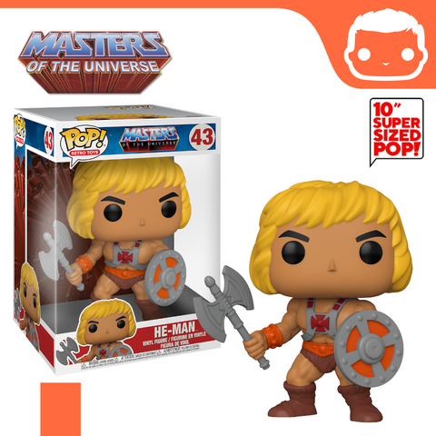"#43 - MOTU - 10"" Supersized He-Man Exclusive"