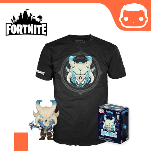 Fortnite POP! & Tee Box Ragnarok Box Set - Size: XL