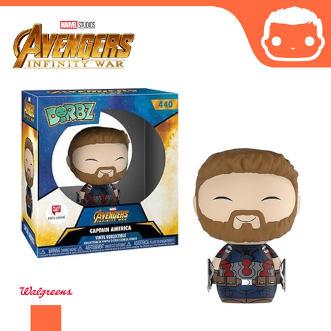 #440 - Marvel - Captain America Dorbz Walgreens Exclusive