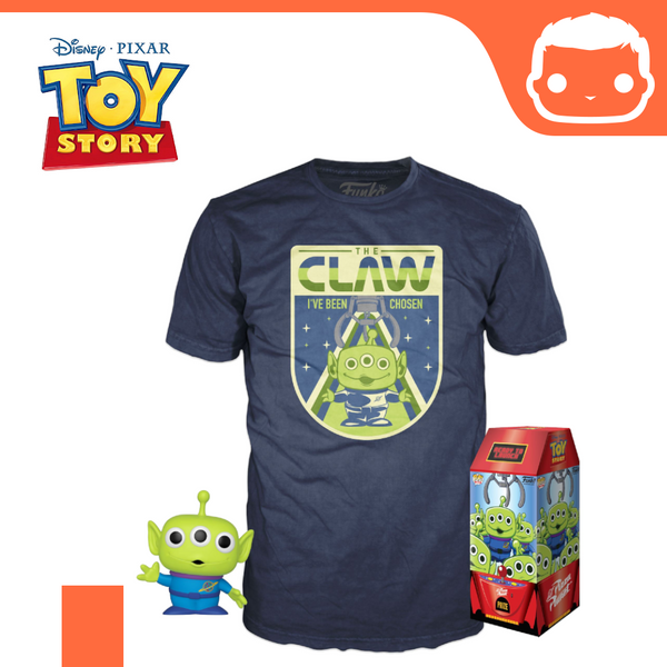 Toy Story POP! & Tee Box The Claw heo Exclusive [Medium]