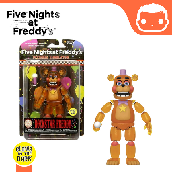 Five Nights at Freddy's - Rockstar Freddy (Translucent) - GITD