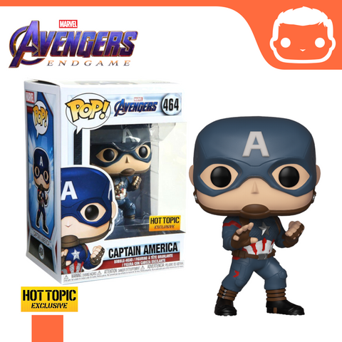 #464 - Captain America - Hot Topic Exclusive