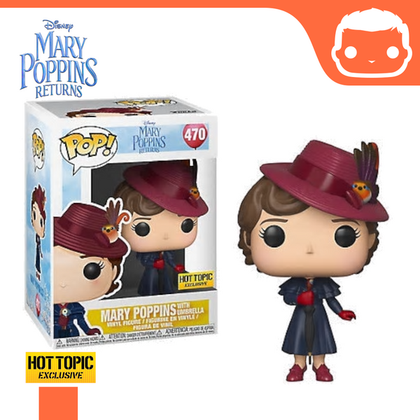 #470 - Mary Poppins With Umbrella - Hot Topic Exclusive [Damaged]