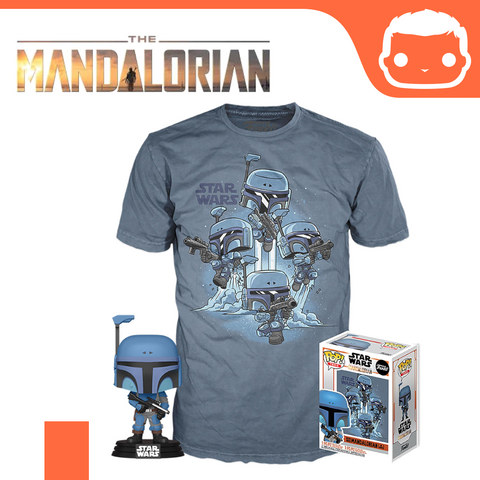 Star Wars - The Mandalorian Pop! & Tee Box Set [Small]