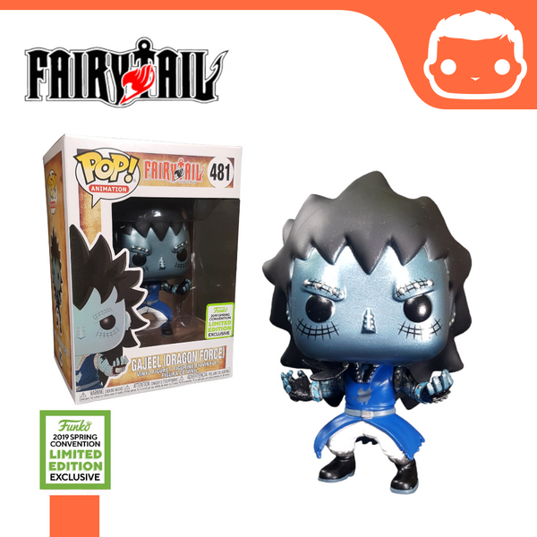 #481 - Fairytail - Metallic Gajeel Dragon Scales (ECCC Exclusive)