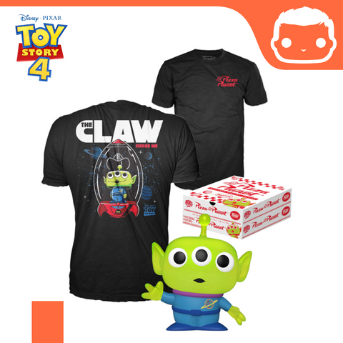 Toy Story POP! & Tee Box Alien Exclusive [Large]