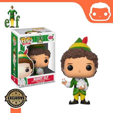 #488 - Buddy Elf (Snowballs) Exclusive
