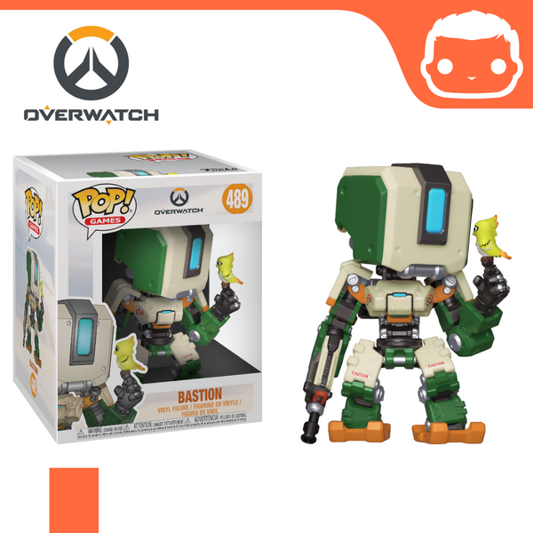 #489 - Overwatch - Bastion Supersized Pop!