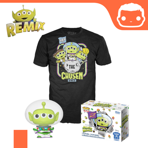 Toy Story POP! & Tee Box Alien as Buzz Exclusive [Large]