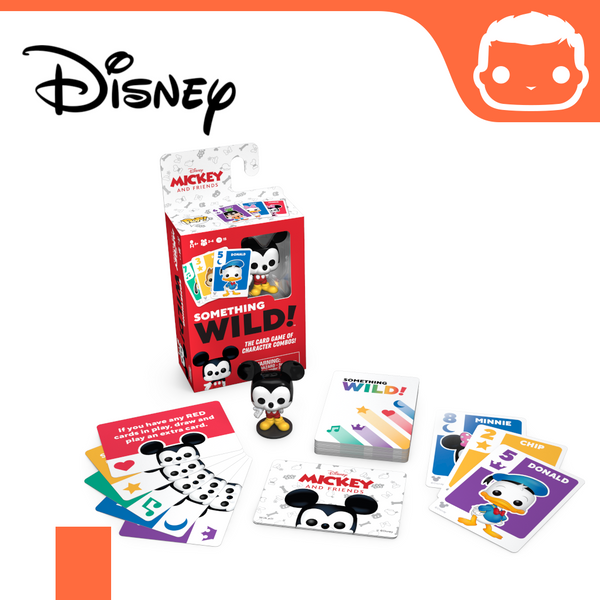 Something Wild Card Game - Mickey & Friends