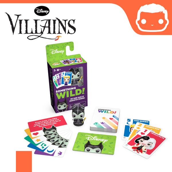 Something Wild Card Game - Villains