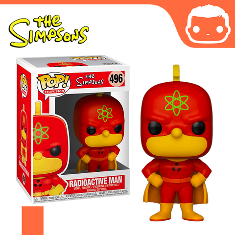 #496 - The Simpsons - Radioactive Man