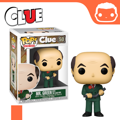 #50 - Clue - Mr. Green