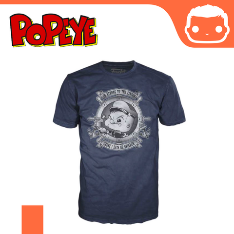Official Funko Tee - Popeye - Strong To The Finish [Large]