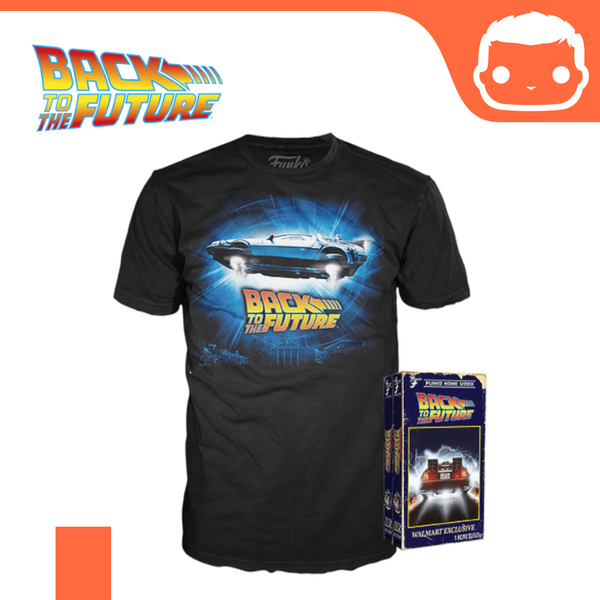 Back to the Future - Funko Pop! Tee VHS Box Exclusive [Small]