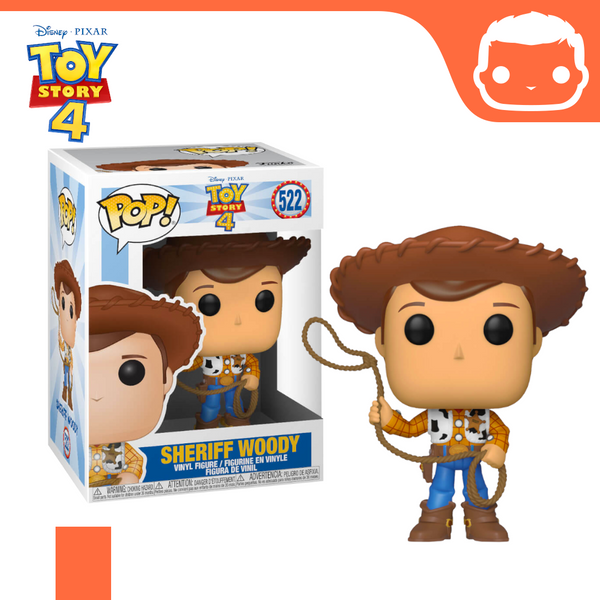 #522 - Toy Story 4 - Sheriff Woody