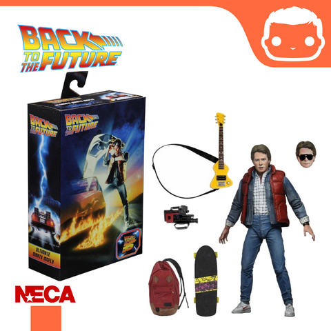 NECA - Back to the Future Part One – 7″ Scale Action Figure – Ultimate Marty