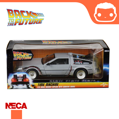 "NECA - Back to the Future – 6"" Die Cast Vehicle – Time Machine"