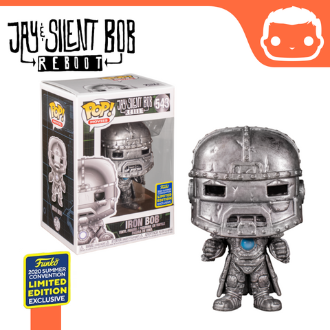 #543 - Jay & Silent Bob Reboot - Iron Bob SDCC Exclusive