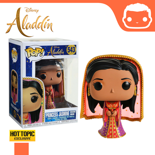 #543 - Princess Jasmine In Desert Moon Dress - Hot Topic Exclusive [Damaged]