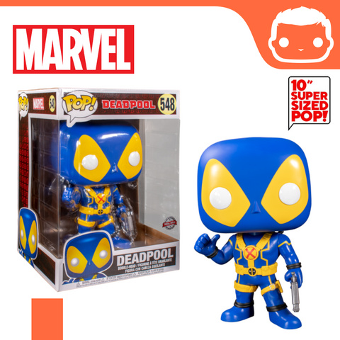 "#548 - Marvel - 10"" Supersized Deadpool (Blue) Exclusive"