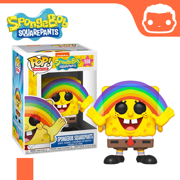 #558 - Spongebob Squarepants - Spongebob with Rainbow