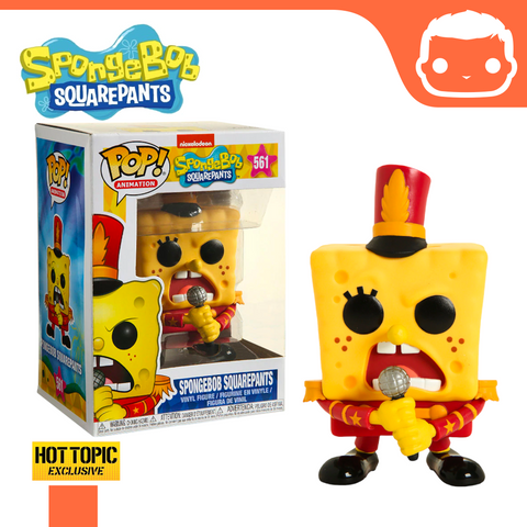 #561 - Spongebob Squarepants (Band Outfit) - Hot Topic Exclusive