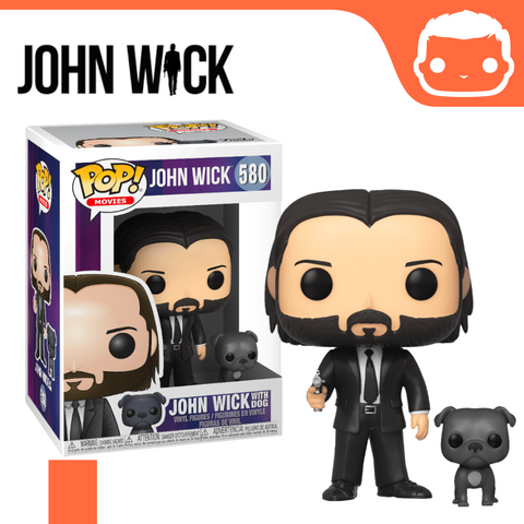 #580 - John Wick in Black Suit with Dog
