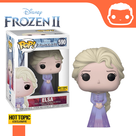 #590 - Frozen 2 - Elsa Intro - Hot Topic Exclusive