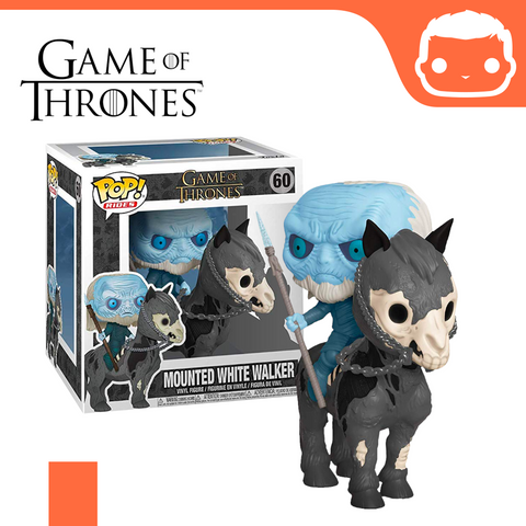 #60 - GOT - Mounted White Walker
