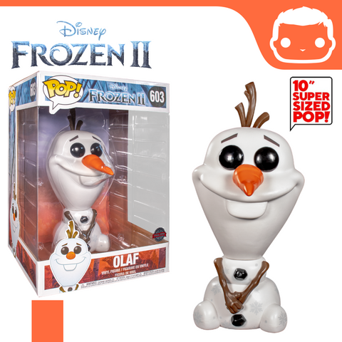 "#603 - Frozen 2 - Super Sized 10"" Olaf"