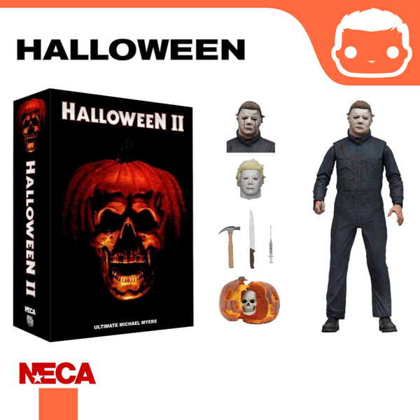 NECA - Halloween 2 – 7″ Scale Action Figure – Ultimate Michael Myers