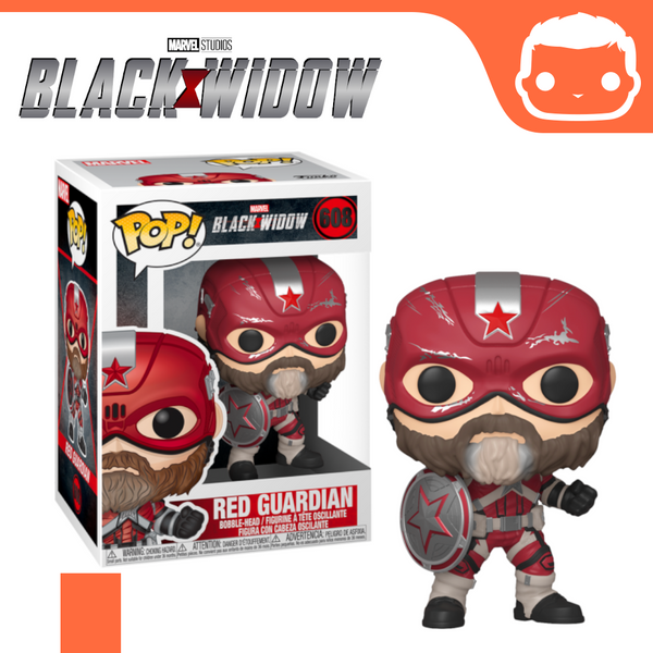 #608 - Black Widow - Red Guardian