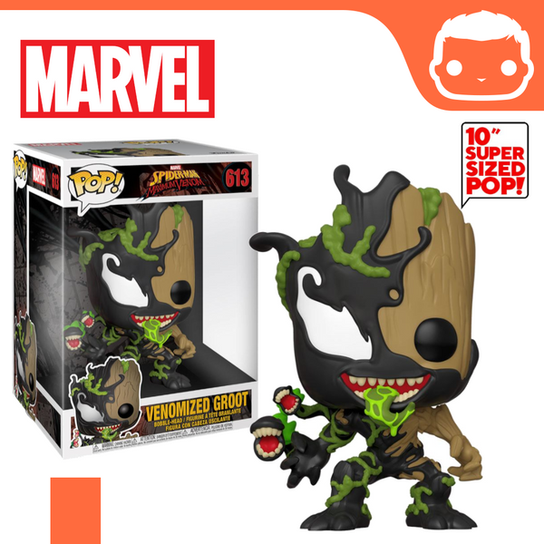 "#613 - Marvel - 10"" Venomized Groot Supersized"