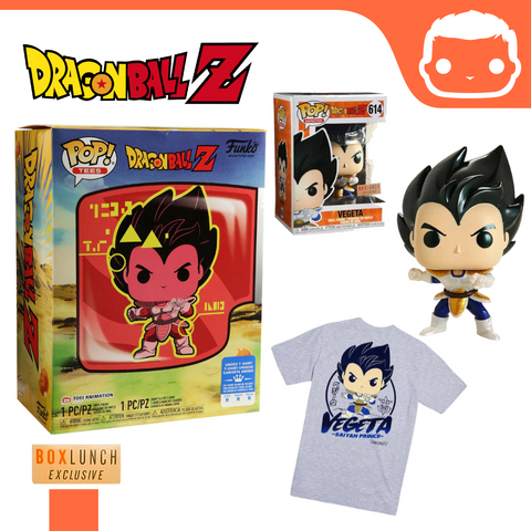 #614 - Metallic Vegeta & Tee Box Set - Box Lunch Exclusive (Large)
