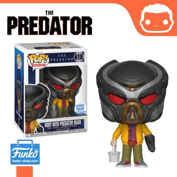 #618 - Rory With Predator Mask Funko Shop Exclusive