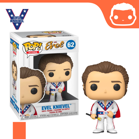 #62 - Evel Knievel - With Cape